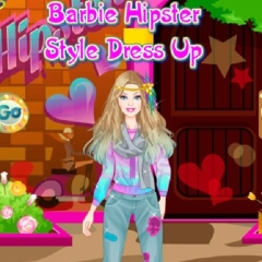 Barbie Hipster Style Dress Up