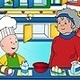 Caillou Game Cooking