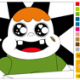 Clarence Funny Eyes Coloring