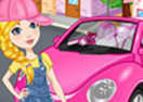 Clean My Pink New Beetle