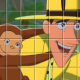 Curious George Spin Puzzle