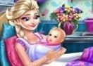 Frozen Elsa Birth Caring