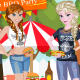 Frozen Sisters BBQ Party