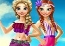 Frozen Sisters Summer Break