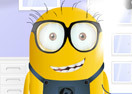 Minion Wearing Glasses