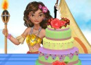 Moana Wedding Cake