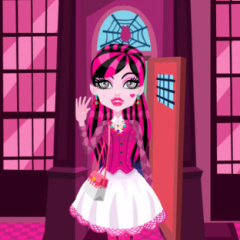 Monster Draculaura School Dress Up