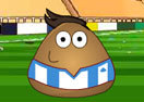 Pou Juggling Football