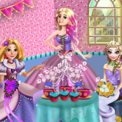 Princess Bridesmaid Tea Party
