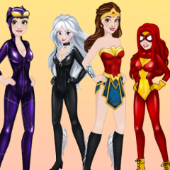 Princesses Comics Heroines