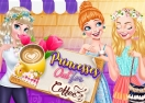 Princesses Out For Coffee