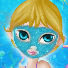 Stella Mermaid Makeup