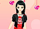 Valentine Girl Dress Up